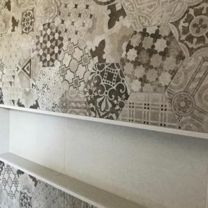 Custom En-suite tile work in nanaimo