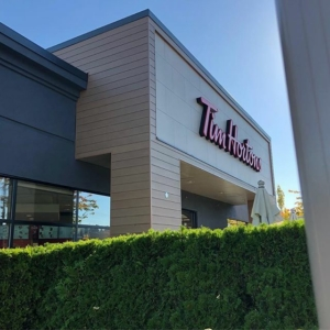 Tim Hortons Storefront Tile